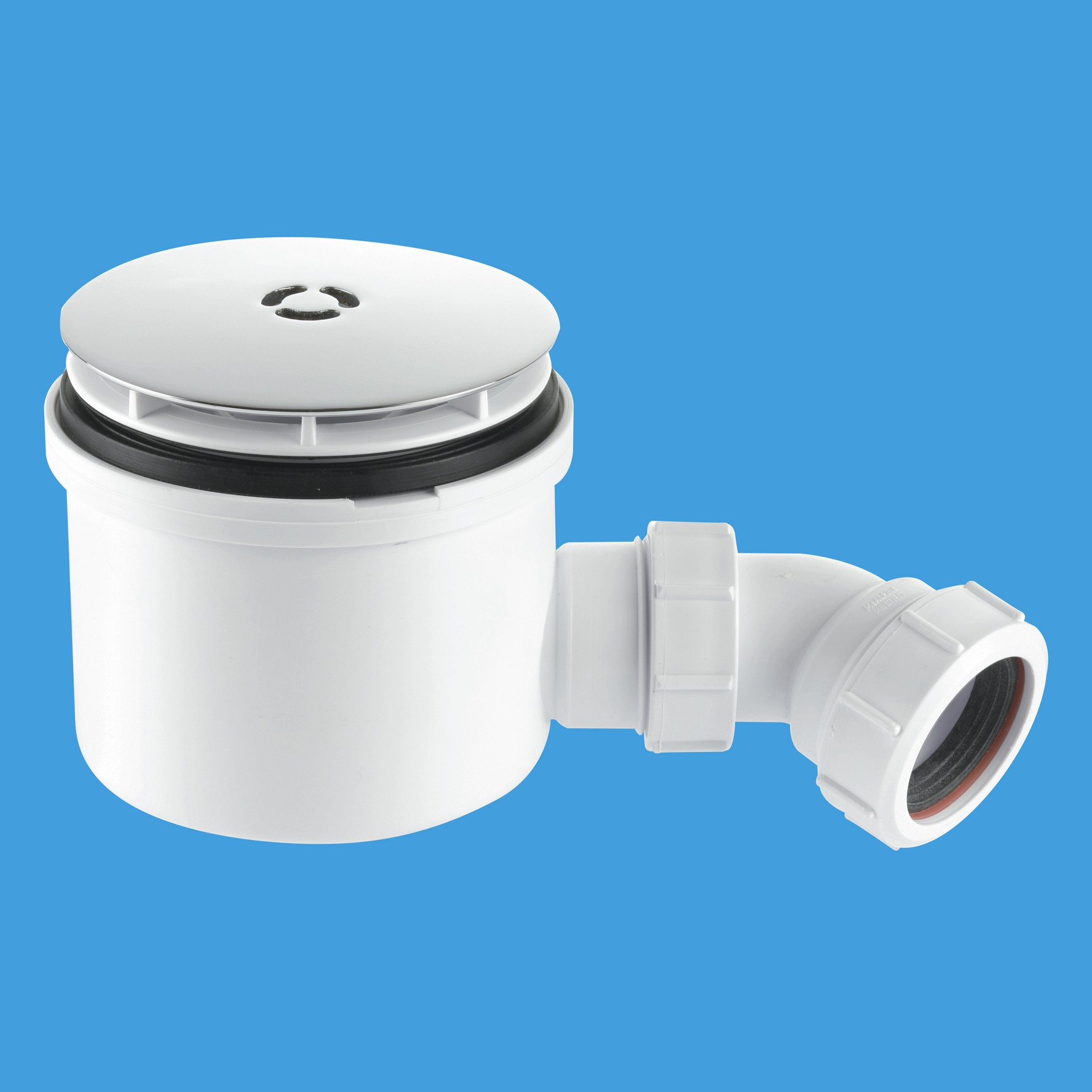 Mcalpine St90cb10 90mm Shower Trap With 50mm Water Seal