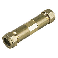 15mm compression fitting Repair Coupling (Bag of 10=£36.90)