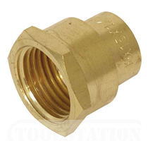 "15mm x 1/2"" Capillary End Feed Straight Adaptor Fi (Bag of 25=£19.94)"