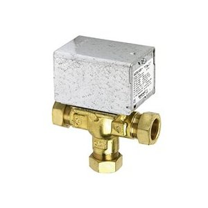 V4073A1088 Mid-Position valve 28mm 3 port. Honeywell. Motorized Valve.