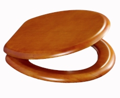 Antique Pine Effect Toilet Seat