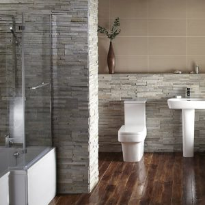 Blok Shower Bath Suite.
