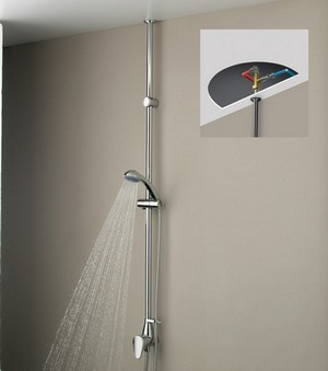 Bristan Jute Thermostatic Exposed Shower Mixer