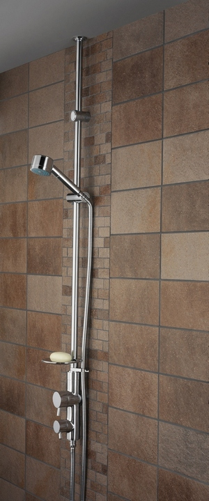 Bristan Prism Thermostatic Exposed Shower Mixer (Ceiling Fed)