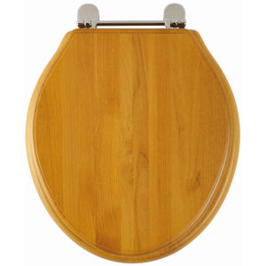 Greenwich Toilet Seat (Antique pine finish)