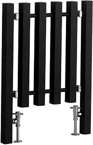 Kwai Matt Black Radiator 600mm (W) x 800mm (H)