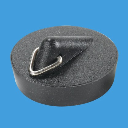 "McAlpine BP4T 1 3/4"" Black PVC Plug with triangle"