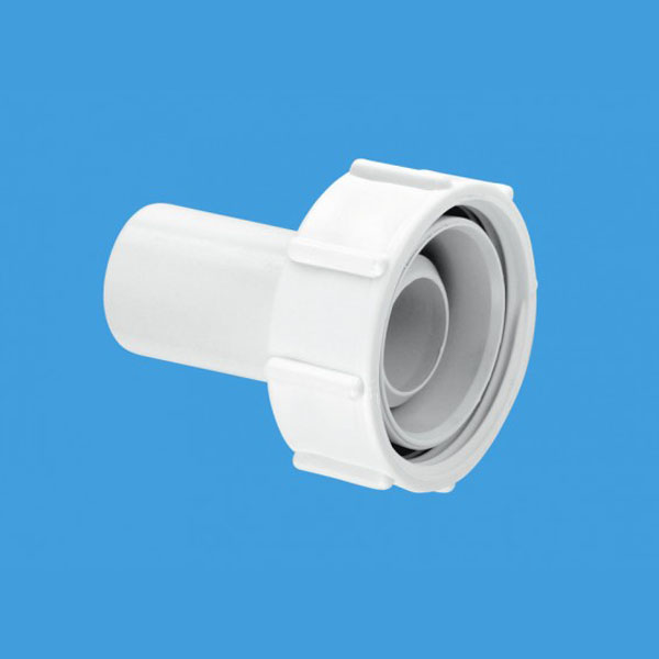 Mcalpine R11 Straight Connector Wasteflow Fitting