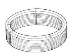 PB12018B Polypipe Solid and floating floors barrier polybutylene pipe coils 18mm x 120m coil